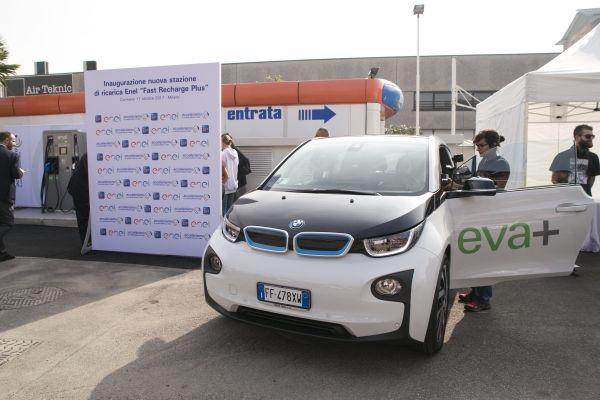 BMW Italia: Partnership con Enel per il progetto EVA+