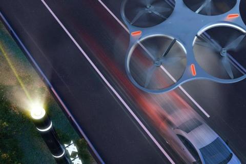 L'autostrada diventa smart: Wi-fi droni e pali intelligenti