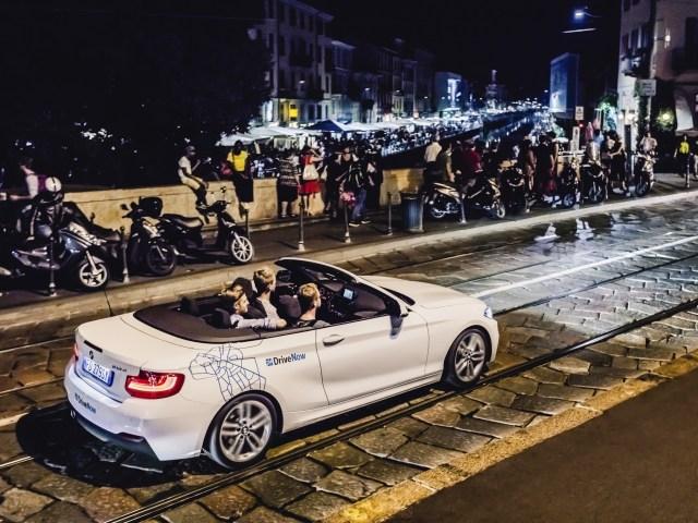 DriveNow (Gruppo BMW) a Milano fa 100.000 clienti.  E 10 milioni di km percorsi.