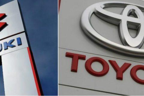 Toyota e Suzuki per la produzione di veicoli elettrici e auto compatte