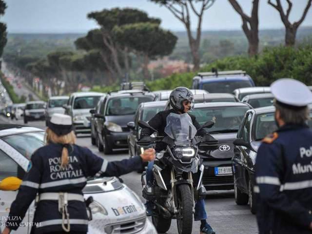 Stop circolazione a Roma di tutti i veicoli diesel euro 6 compresi