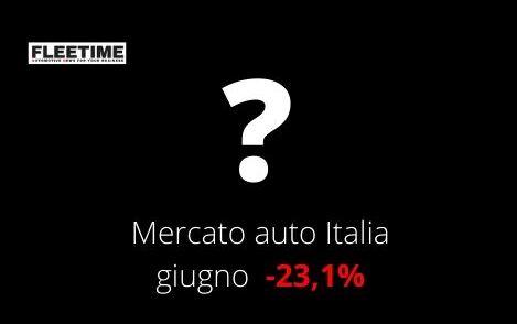 Vendite auto Italia giugno 2020