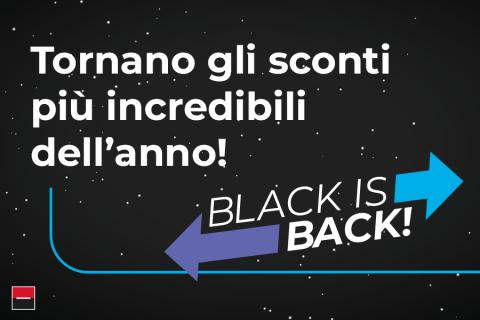 """""""BLACK IS BACK"""": le promozioni del Black Friday ALD"""