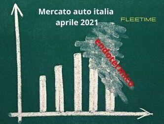 quota mercato auto Italia aprile 2021 (1)