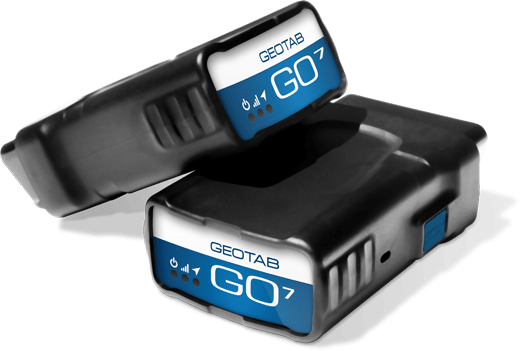 Geotab GO7 two units
