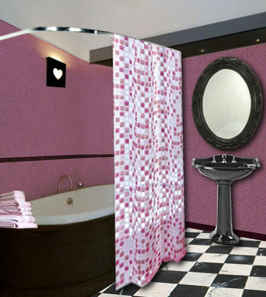 le rose en decoration d interieur