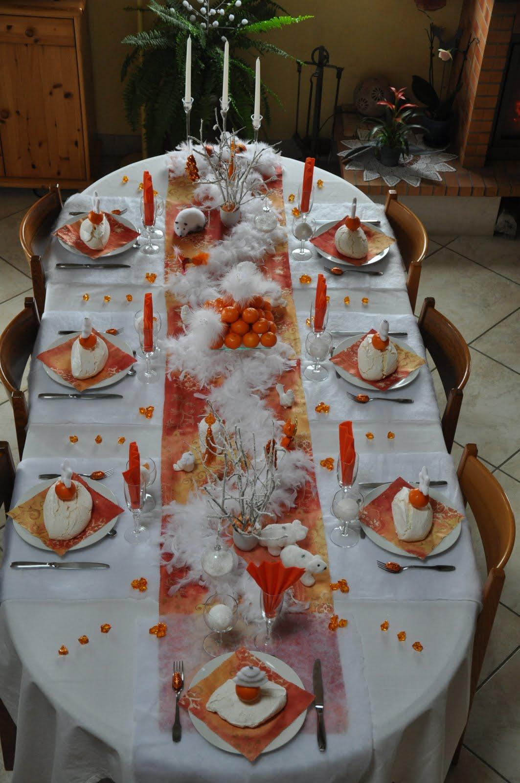 Inspirations De Belles Tables Pour Nol Floriane Lemari