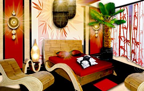 Une Chambre Bambou Floriane Lemari
