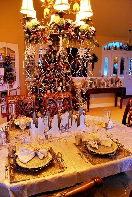 table jour de l an by des tables 233 tincelantes pour le jour de l an