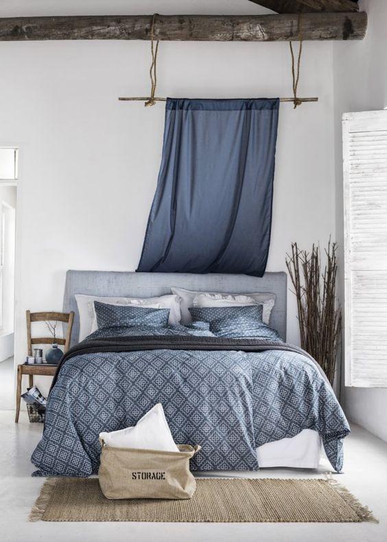 des tetes de lit habillees avec des