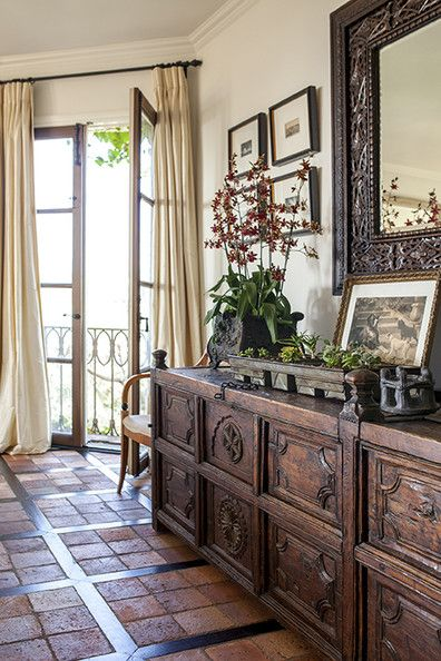 decoration style colonial floriane