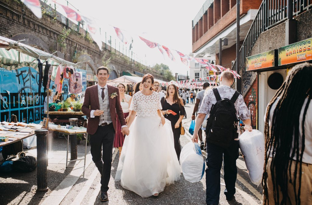 Summer Pop Brixton Wedding | Jill & Chris' London Wedding