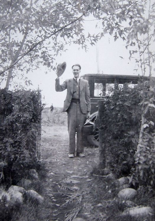 In his 20s as a young minister in Saskatchewan