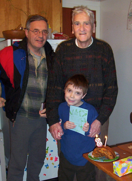 81st birthday, 2007.
