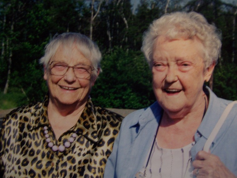 Ester and Mille, c. 2002