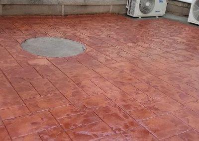 Tompkins Concrete Patio