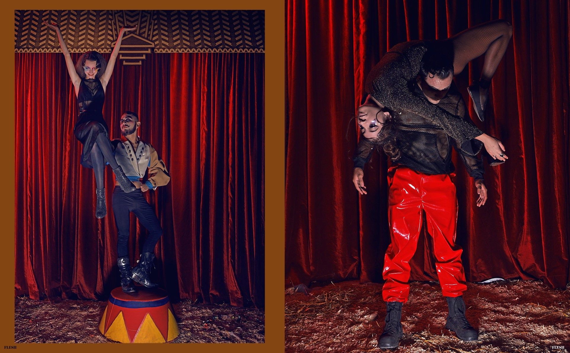 Enter the Circus PHOTO Ivan Aguirre STYLING Jannette Klein Universidad