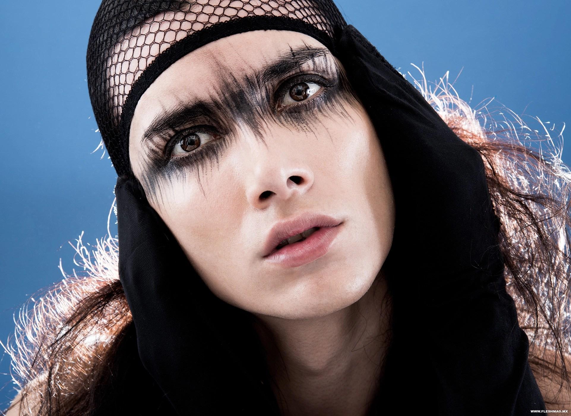 La Belleza según Malafacha PHOTO Karla Ledesma MAKEUP Beatriz Cisneros para Malafacha