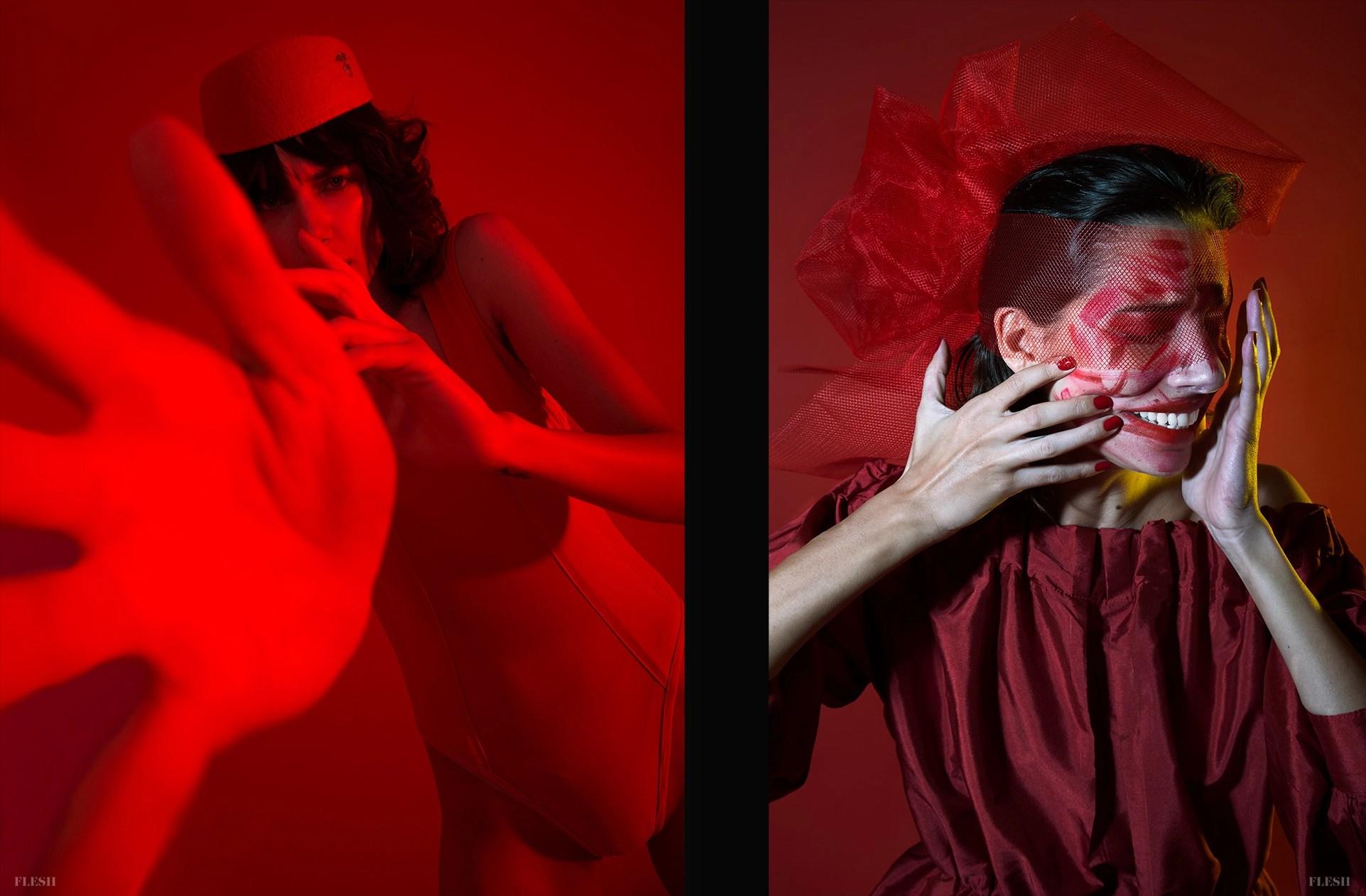 Redrum PHOTO Nigorette STYLING Ness De Luna + Criss Sauza