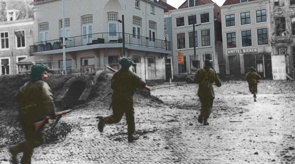 Commando's over het Bellamypark 1944 / 2014