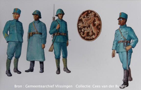 Nederlandse militairen – 1940 –