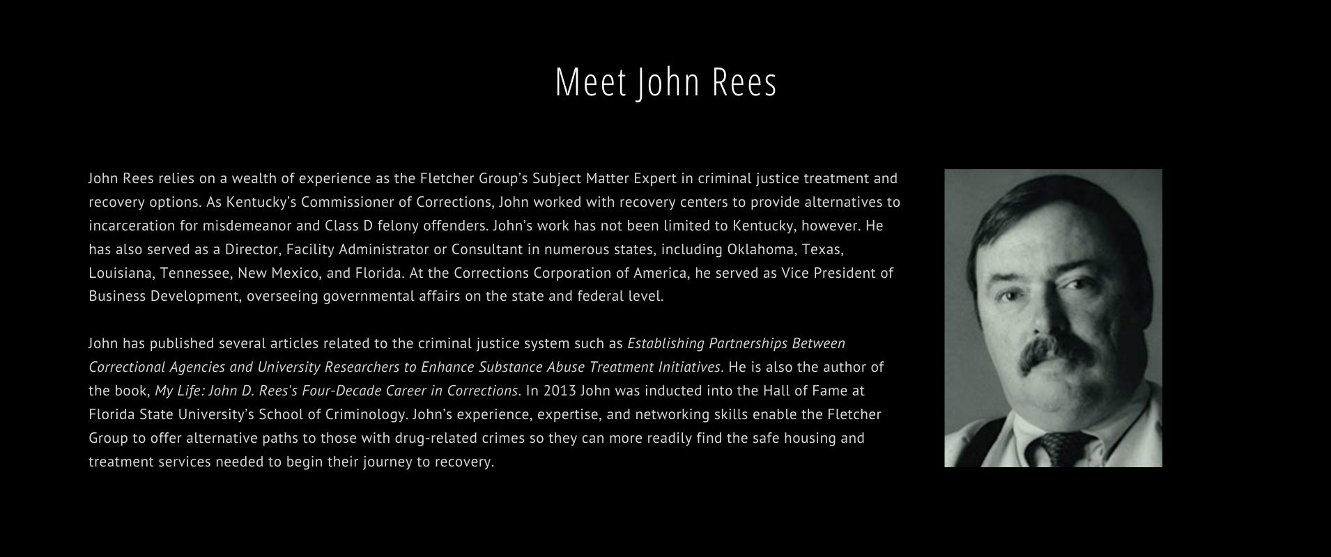 MEET JOHN REES