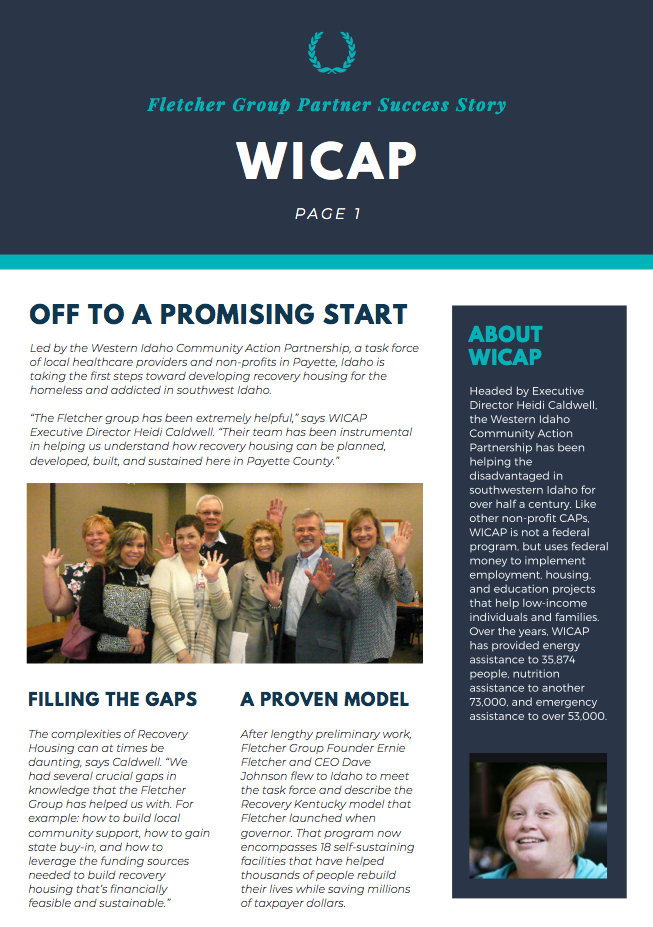WICAP SUCCESS STORY SCREENSHOT