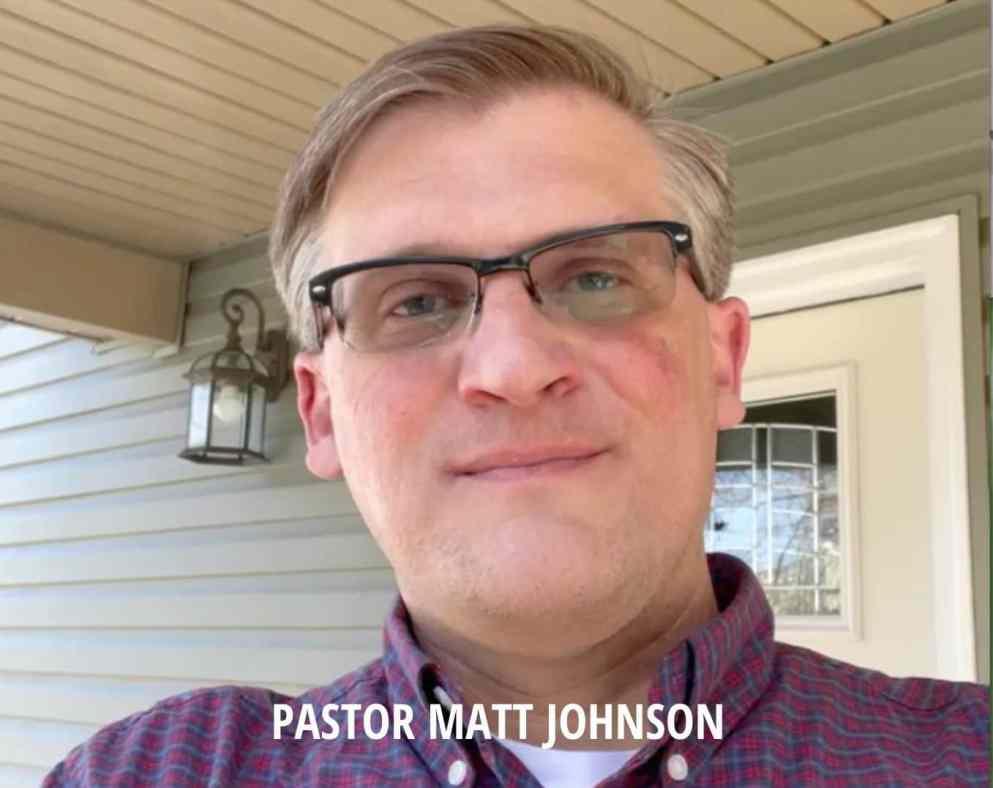 PASTOR MATT JOHNSON OF MORGANTOWN WEST VIRGINIA