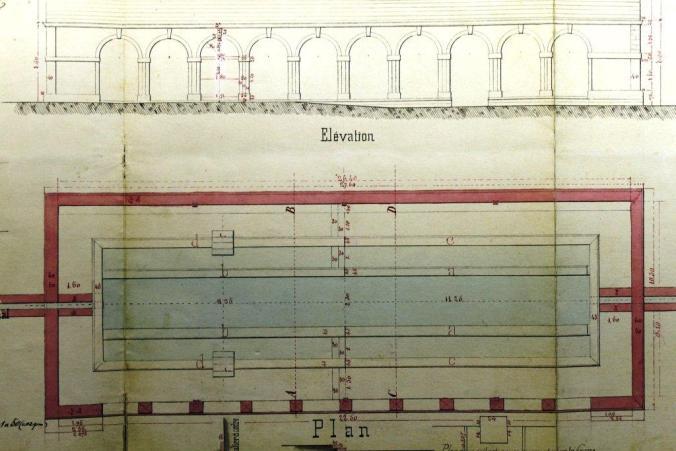 Plans lavoir 1877