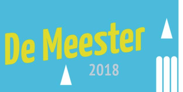 De Meester 2018: save the date, de jury is bekend!