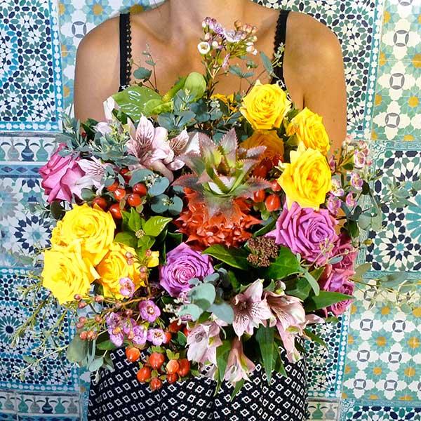 bouquet fleur victoria