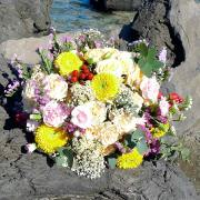bouquet champ fleuri