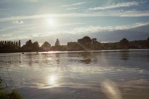 Coucher de soleil sur la Seine