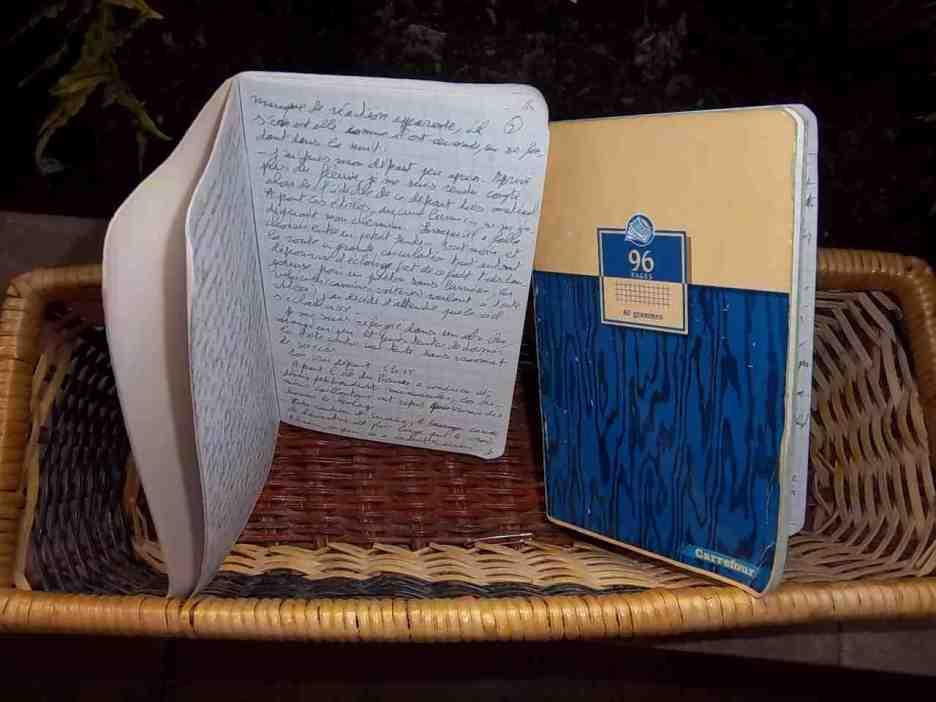 Carnets manuscrits du Rhône