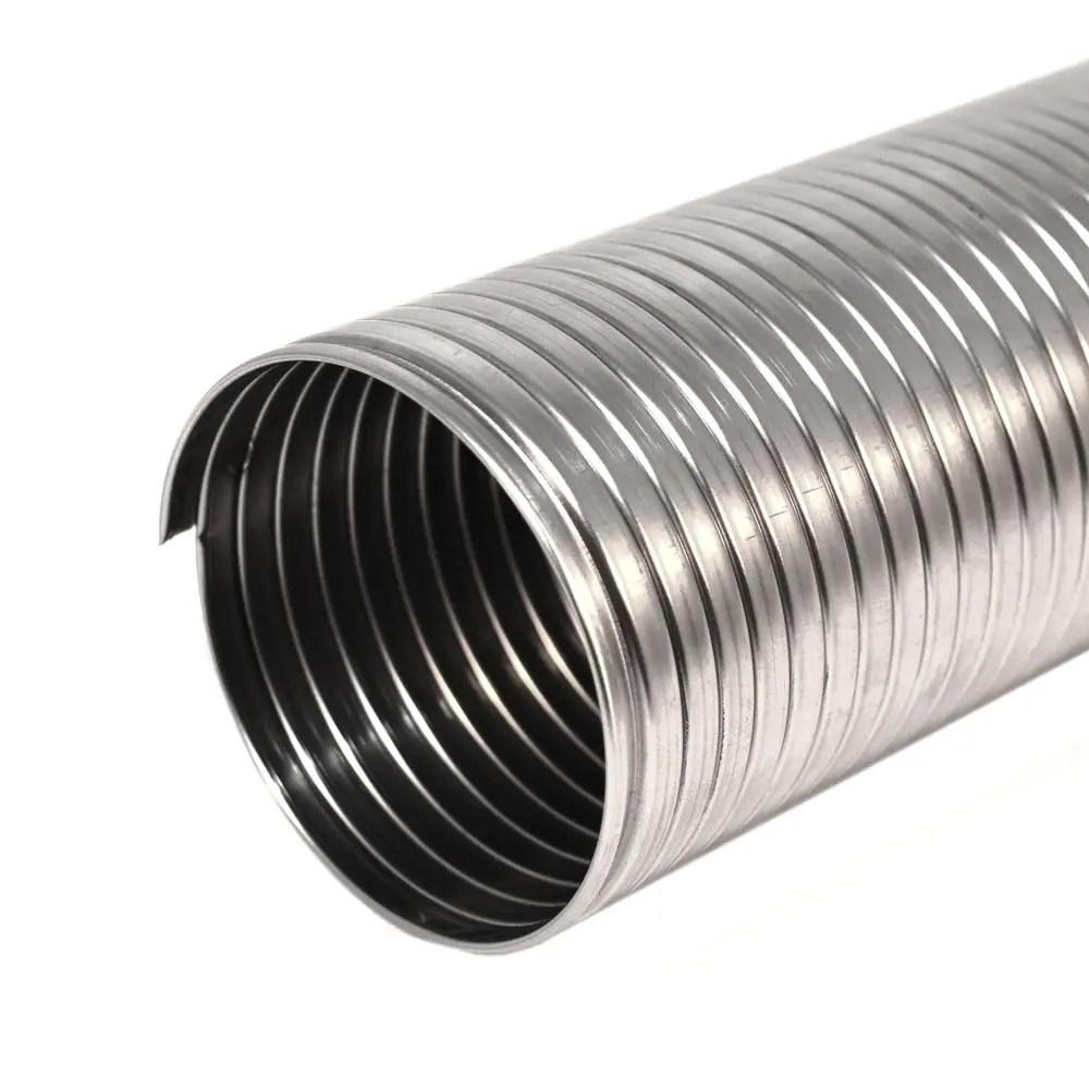 stainless steel griplock type flexible tubing