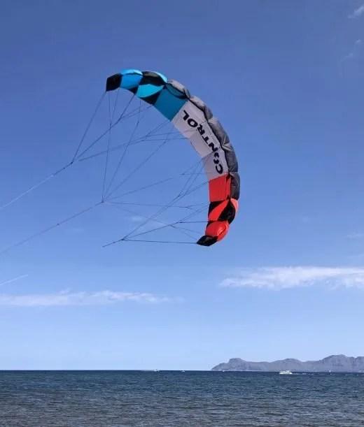 training kite for kiteboarding