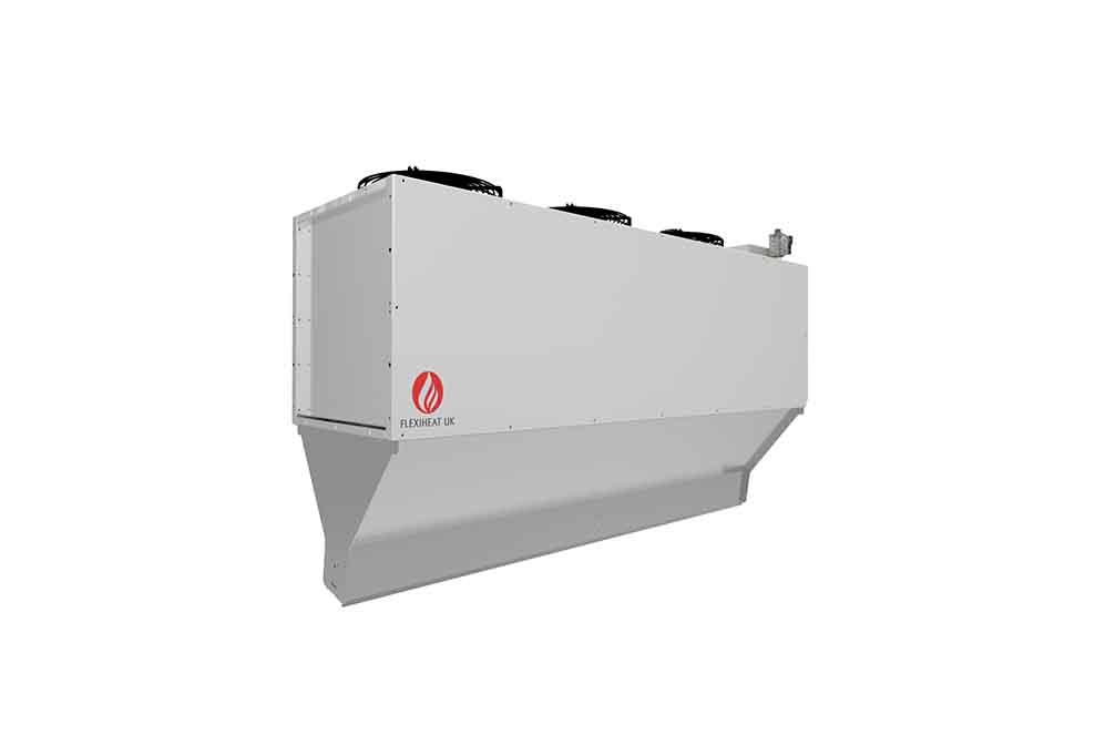 air curtain heater gas fired