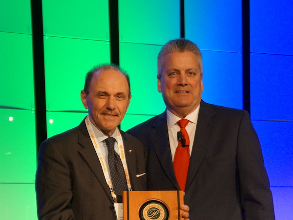 FTA President's Award Sante Conselvan