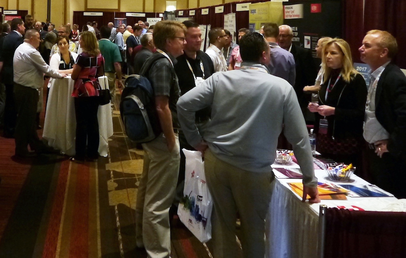 Fall Conference 2017 Recap Monday tabletop exhibit lightened