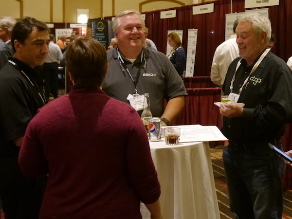 Fall Conference 2017 Recap Tuesday tabletop exhibit