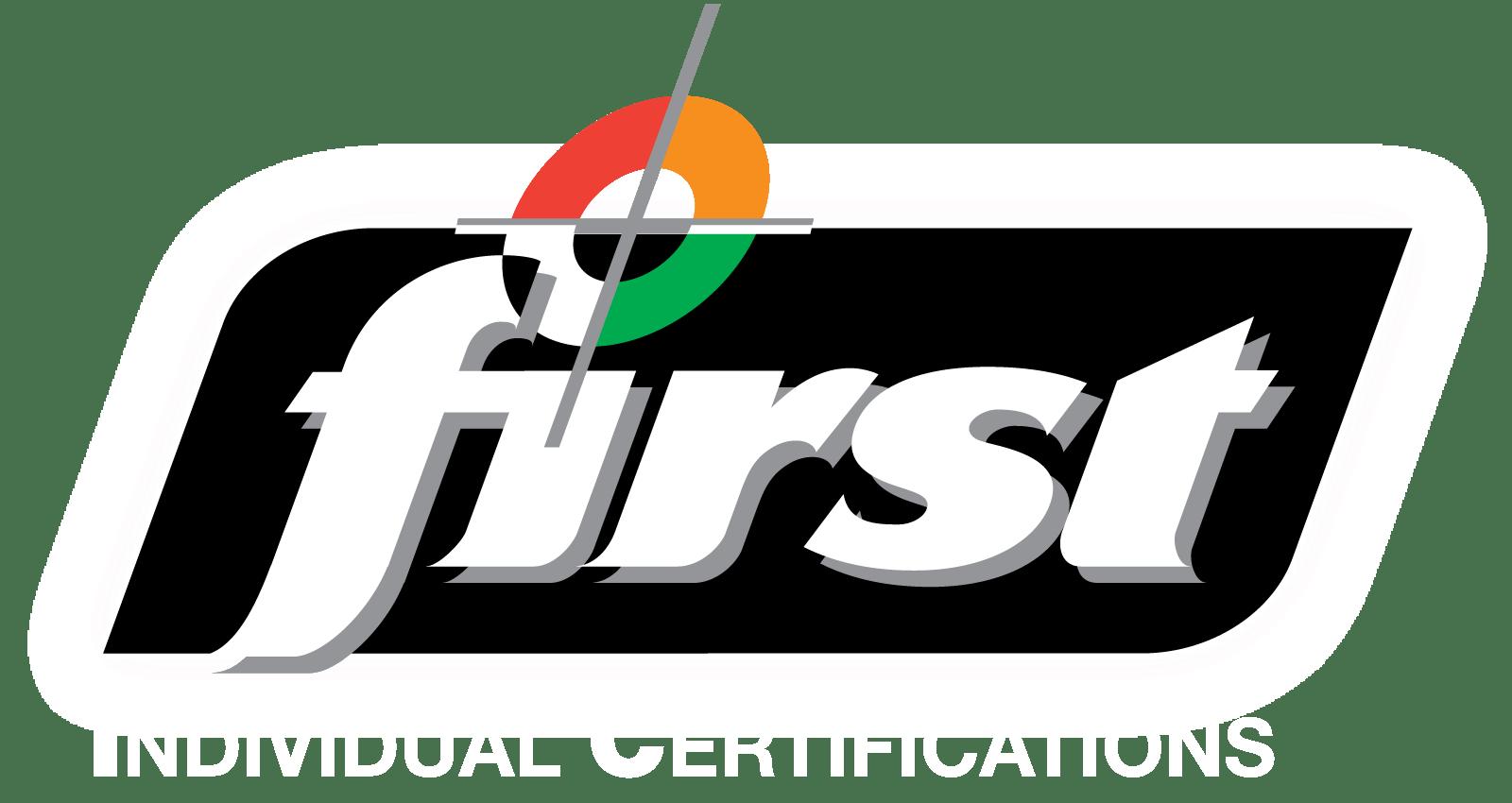 FIRST Individual Cert logo