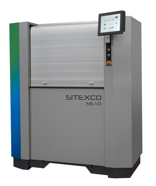 Eaglewood Technologies 2018 FTA Technical Innovation Award Sitexco Laser Anilox Cleaning System full machine