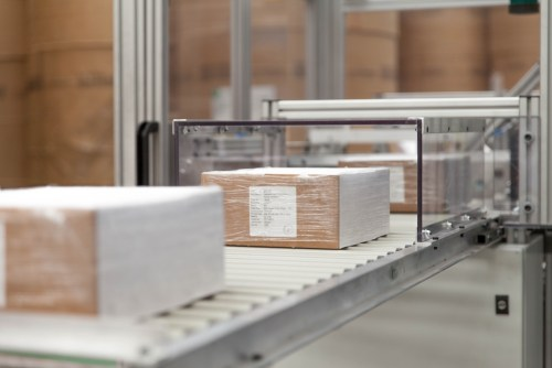 Heritage Envelopes 2018 FTA Sustainability Excellence Award PackMail conveyor