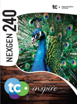 TC Inspire NEXGEN 240 Bag printed by Transcontinental Robbie