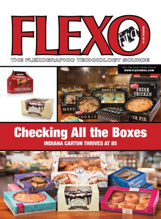 FLEXO Magazine March 2019 cover