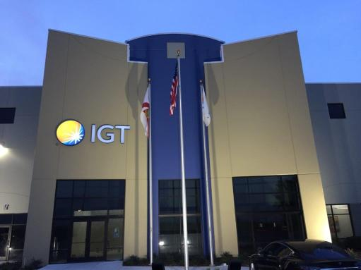 IGT Global Solutions 2019 FTA Sustainability Excellence Award headquarters
