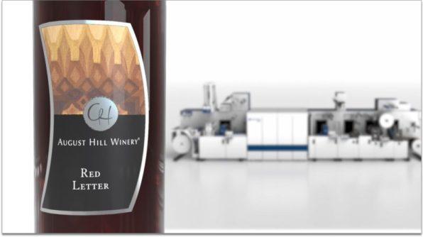 Domino International Label & Printing embellishments
