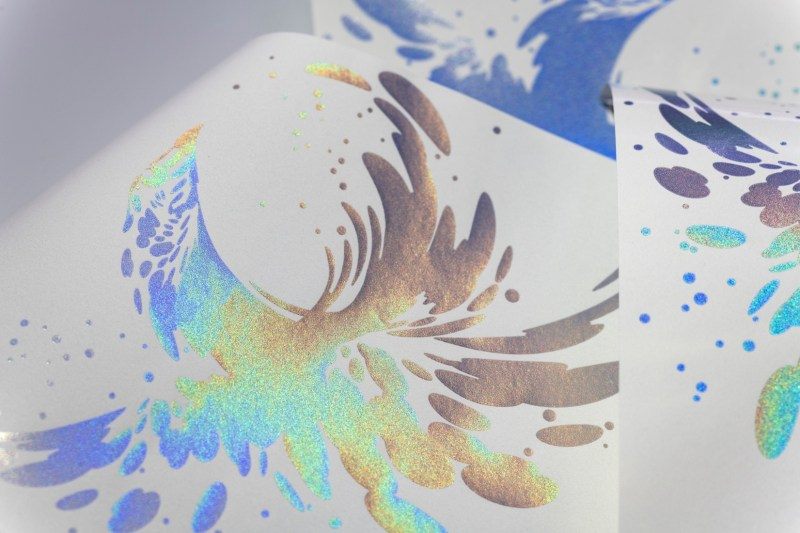 Eckart America Corp Schultz Figure 8 ECKART-effect-pigments-PRISMASTAR UV FP-5820-tinted
