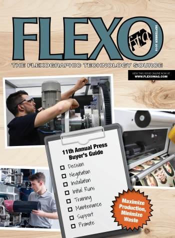 FLEXO Magazine September 2019 cover