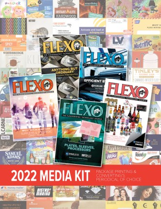 FLEXO Magazine 2022 Media Kit cover